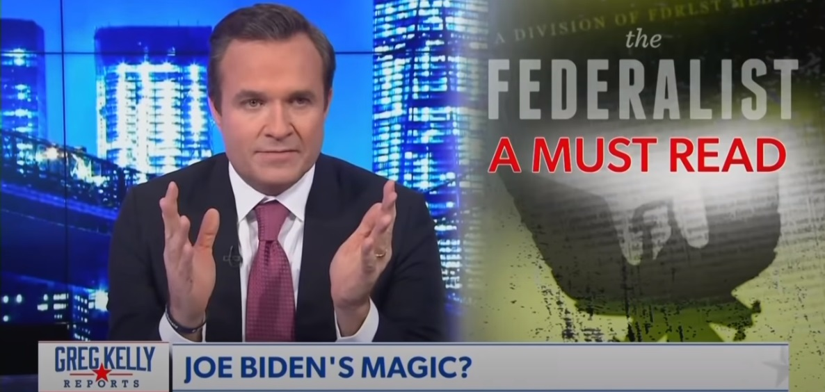 "Newsmax Anchor Greg Kelly on the ""Historic Implausibility"" of a Biden Win: ""Here's the deal...I don't believe it"""