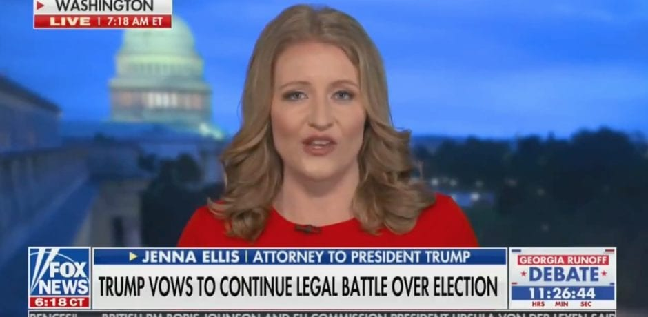 """Jenna Ellis - Judge Gives Trump Lawyers Ability To Perform Forensic Audit On 22 Dominion Voting Machines In MI…""""We'll have results in 48 hours!"""""""