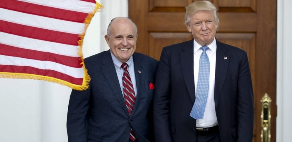 "Trump Trolls The Left: Tweets That Rudy Giuliani Has The ""China Virus...Get better soon, Rudy, we will carry on!"""