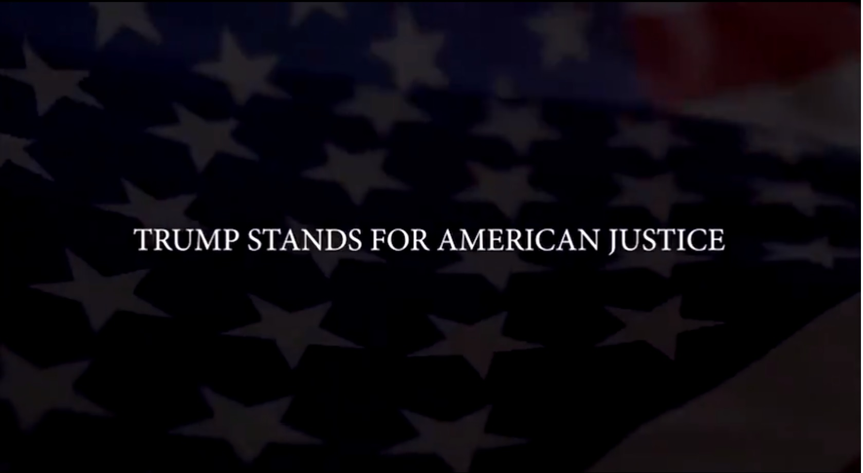 "Trump's New Inspiring Video: ""Trump Stands For America"""