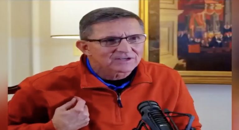 "General Flynn Breaks Down The Fraud, ""100% This President Is Going To Continue In Office"""
