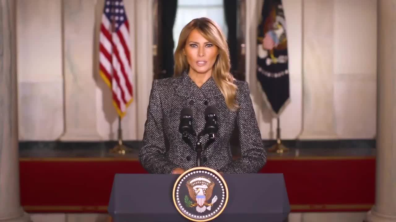 First Lady Melania Trump Sends Heartwarming Farewell Address To The American People