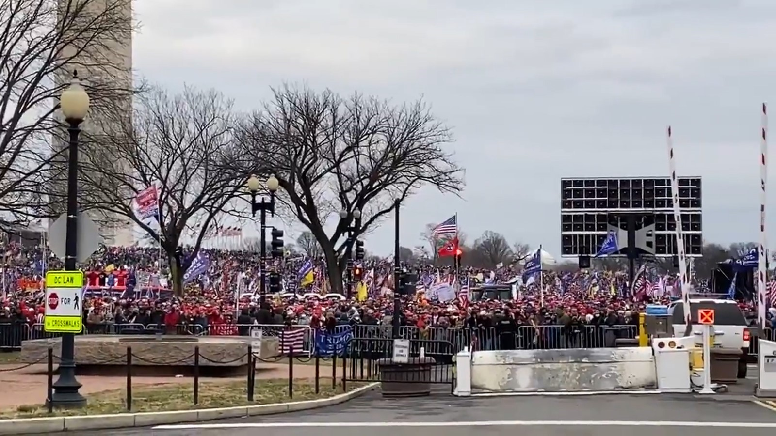 Thousands Of Trump Supporters Gather In D.C