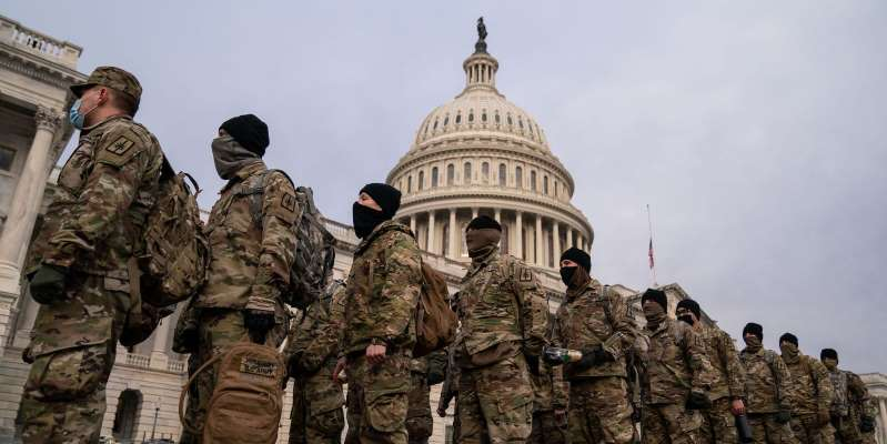 Why Are There 25,000 Troops In Washington D.C. Right Now?