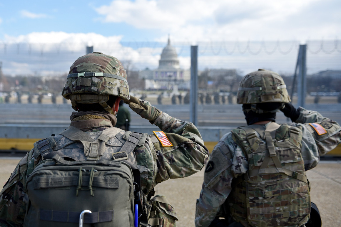 Tensions between the Pentagon and the Biden agency landing team emerged almost the moment the General Services Administration authorized the transition to begin. | Stephanie Keith/Getty Images