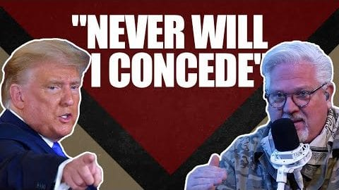 """Never Will I Concede,"" Trump Tells Glenn Beck The Fight is Not Up"