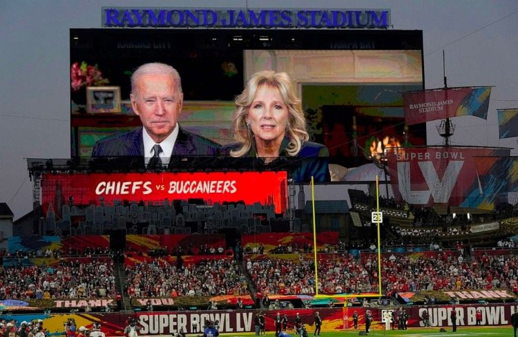 Did Biden Get Booed? Bidens Make Creepy Video Appearance at Super Bowl, Tell Americans to Wear Masks and Get Vaccinated