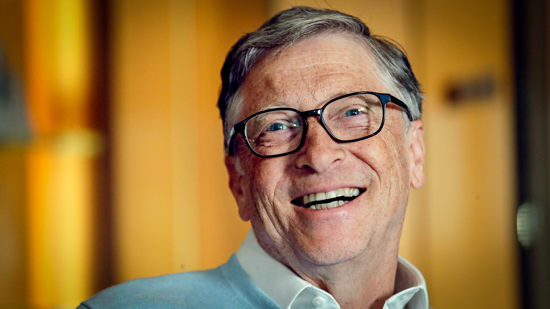 Mandatory Credit: Photo by Elaine Thompson/AP/REX/Shutterstock (10103057b) In this, Bill Gates smiles while being interviewed in Kirkland, Wash. Bill and Melinda Gates are pushing back against a new wave of criticism about whether billionaire philanthropy is a force for good. The couple, whose foundation has the largest endowment in the world, said they're not fazed by recent blowback against wealthy giving, including viral moments at the World Economic Forum and the shifting political conversation about taxes and socialism Bill Gates Philanthropy Criticism, Kirkland, USA - 31 Jan 2019