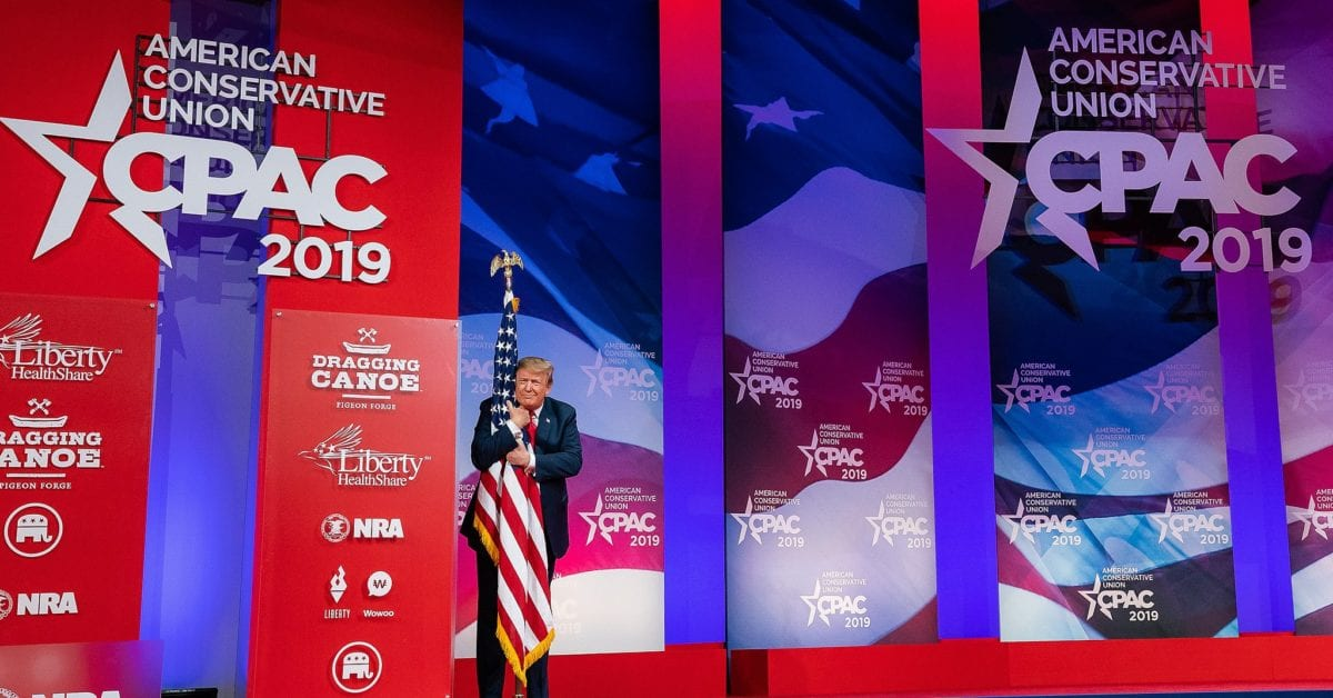 President Trump Will Make First Public Speaking Appearance At CPAC...Here's How To Get Your Tickets