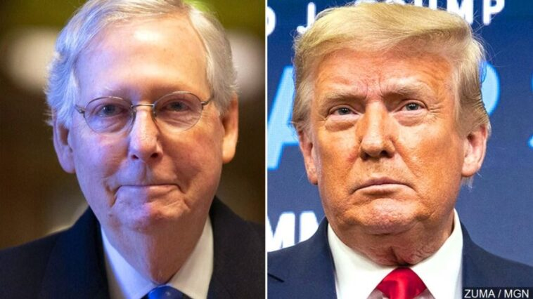 Donald Trump is far more popular with Republicans than Senate Minority Mitch McConnell