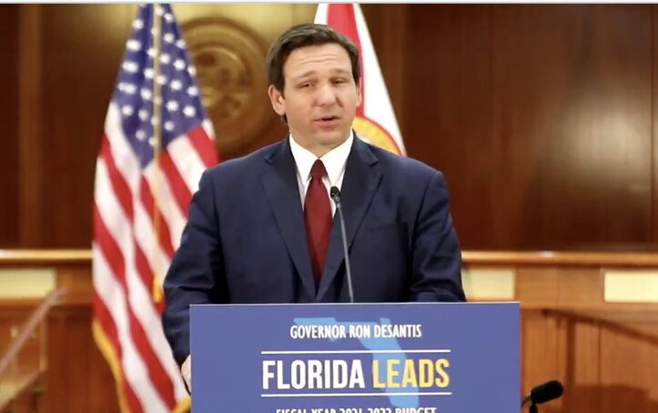 Defiant DeSantis Rejects Lockdowns: 'Florida Is Open And We've Got Your Back!'