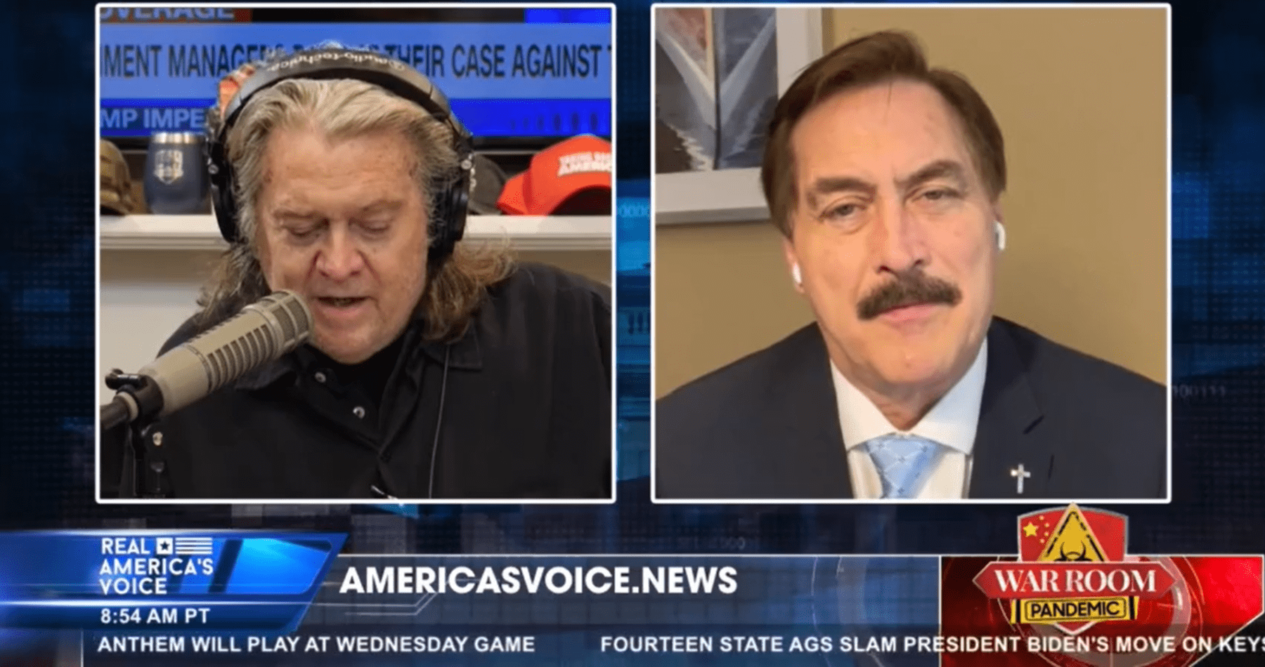 Bannon/Lindell Special On Election Fraud on OANN: Watch Here