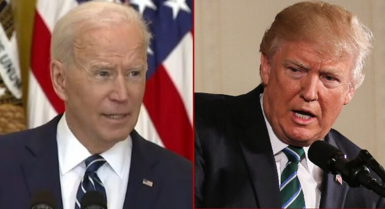 WATCH: Donald Trump Reacts to Biden's Disastrous First Presser: 'It's Very Sad to Watch'