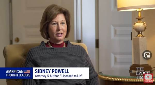 """""""Supreme Court's Failure – Completes the Implosion of Each of the Three Branches of Government"""" – Attorney Sidney Powell Responds to SCOTUS Decision on Election Fraud Cases"""