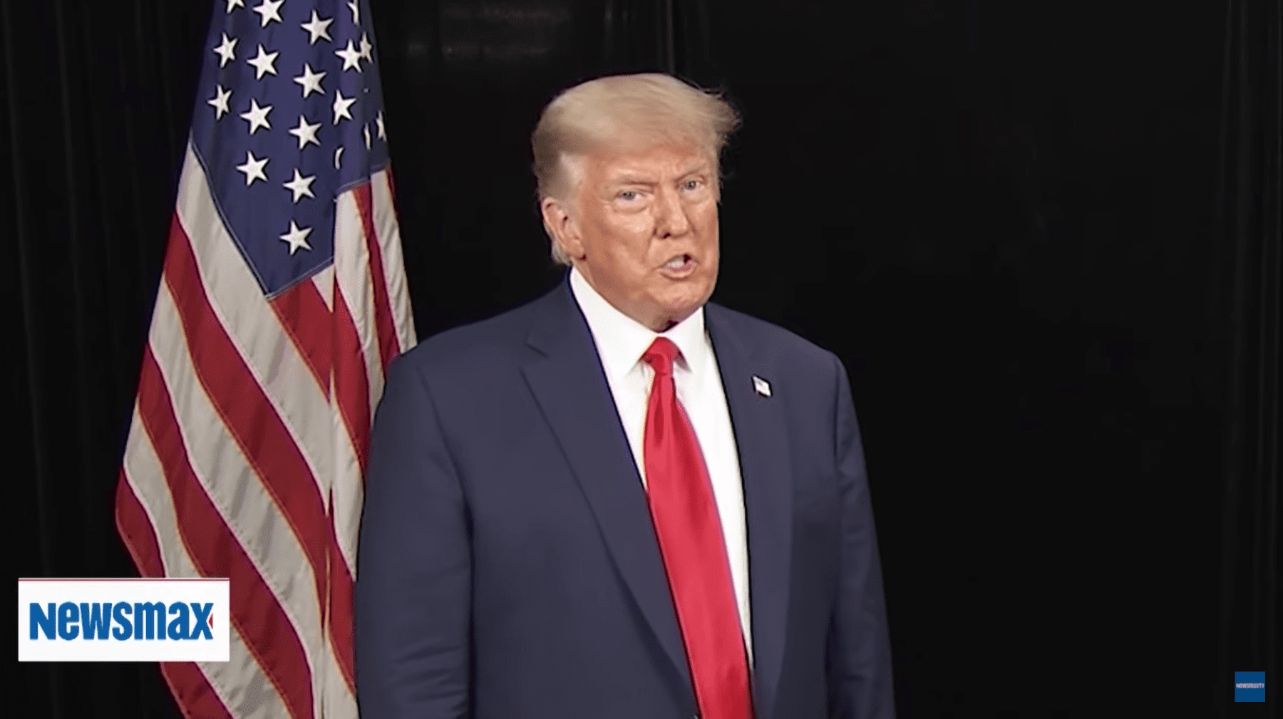 Trump to Newsmax TV: 'Can't Imagine' Someone Else Winning 2024