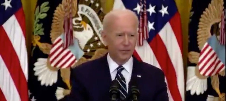 Joe Biden Loses His Train of Thought – Then Says, 'I Came to the Senate 120 Years Ago'