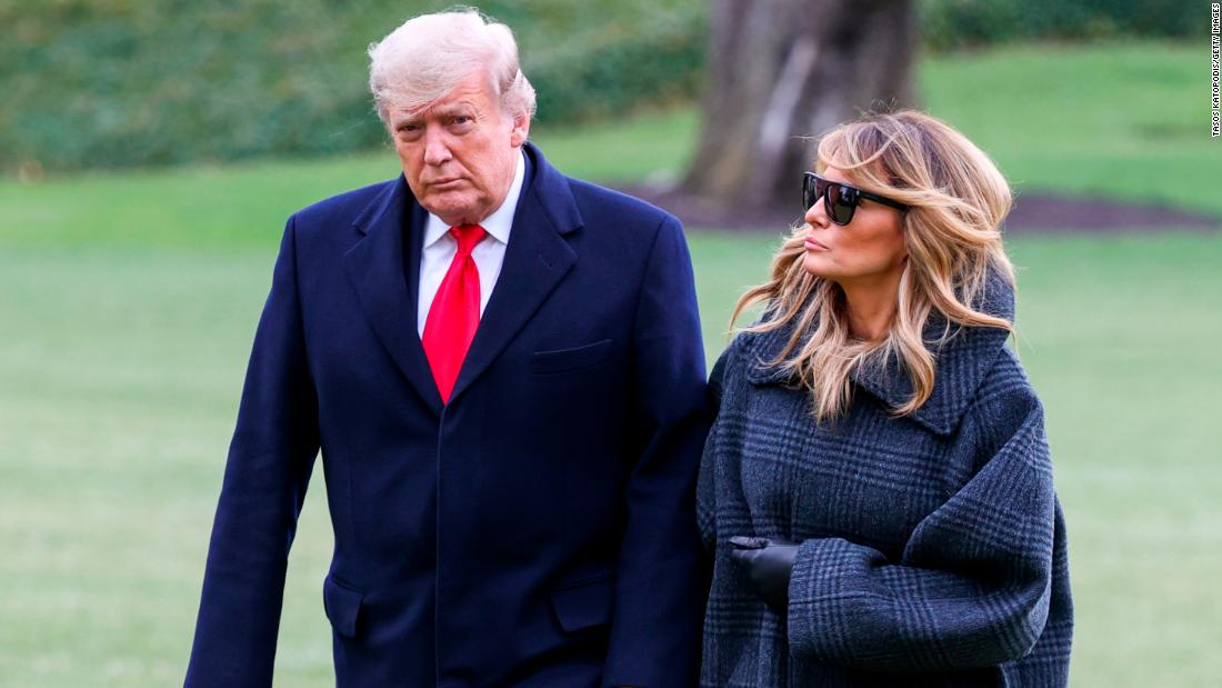 Trump, First Lady Were Vaccinated at WH in January