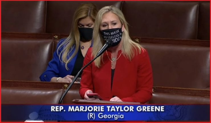 """I didn't get voted into office by politicians, I serve The People""...Rep Marjorie Taylor Greene Blasts Her GOP Colleagues ""Who Still Don't Seem to Get it"""