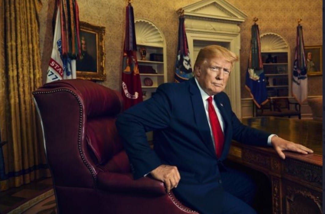 Trump's Portrait Going Up In The Smithsonian…Replacing Obama's