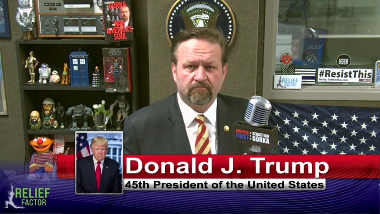 """""""We Have To Save This Country""""- Trump Sits Down With Interview With Sebastian Gorka"""