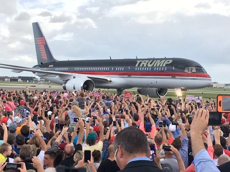 """TRUMP-FORCE-ONE is Back and Ready to be """"Used at Upcoming Rallies"""""""